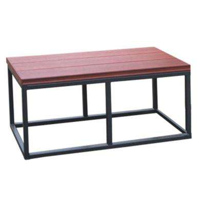 16.5 in. x 36 in. x 18 in. Spa Bench in Mahogany