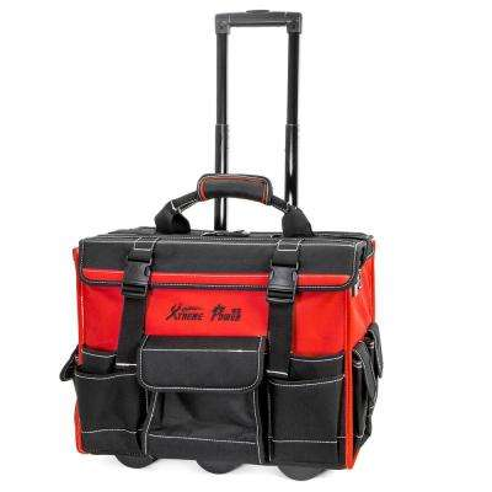 18 in. x 11 in. Jobsite Rolling Tool Bag Backpack