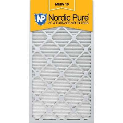 18 in. x 30 in. x 1 in. Dust Reduction Pleated MERV 10 - FPR 7 Air Filters (6-Pack)