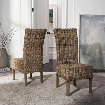 Quaker Natural Unfinished Mango Wood Side Chair (Set of 2)
