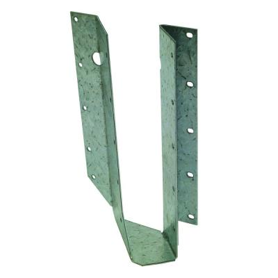 SUR ZMAX Galvanized Joist Hanger for 2x10 Nominal Lumber, Skewed Right