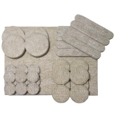 Assorted Self-adhesive Felt Pads (33-Multipack)
