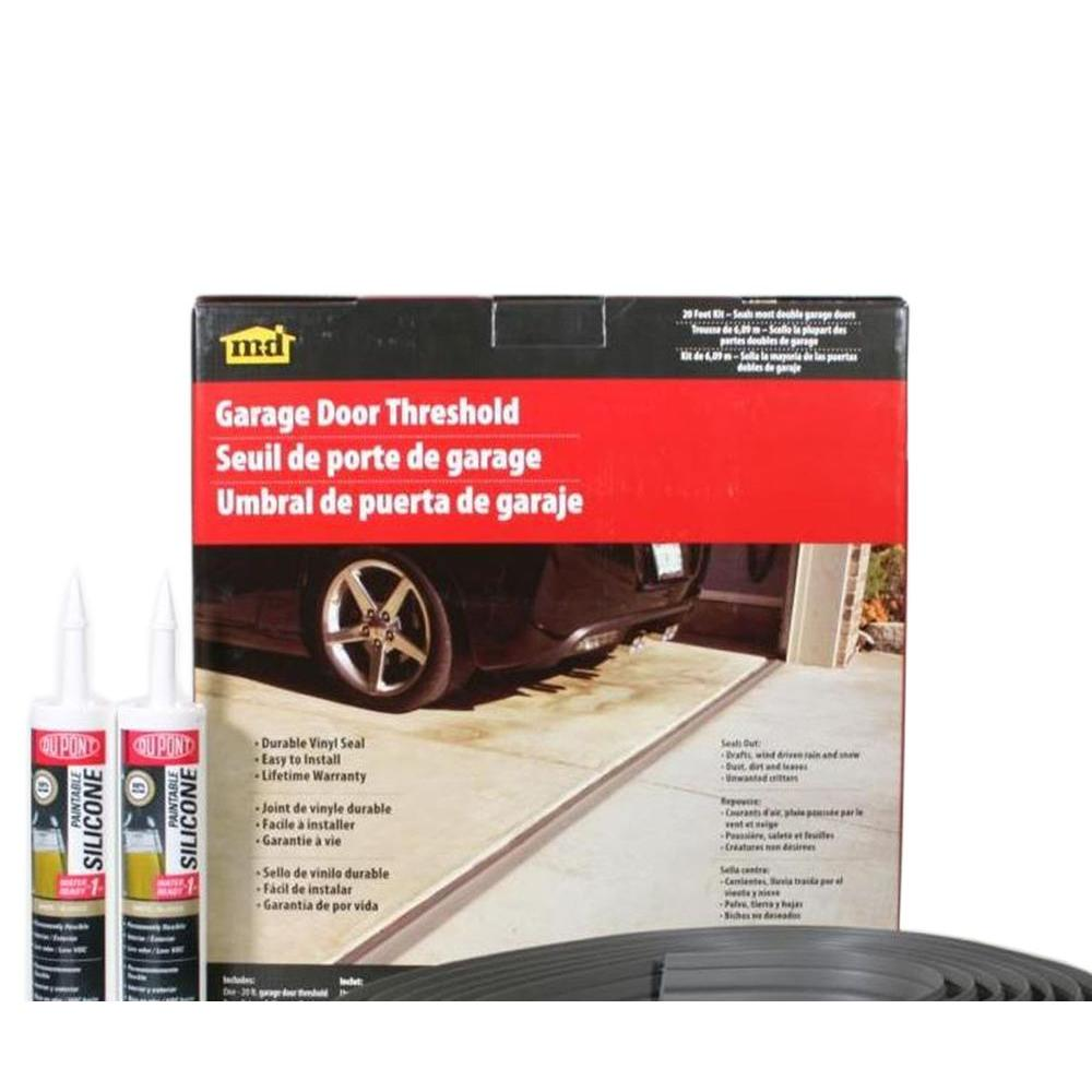 20 ft. Gray Garage Door Threshold Kit