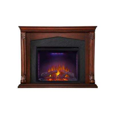 Monroe 57.5 in. x 45 in. Mantel with 34 in. Firebox