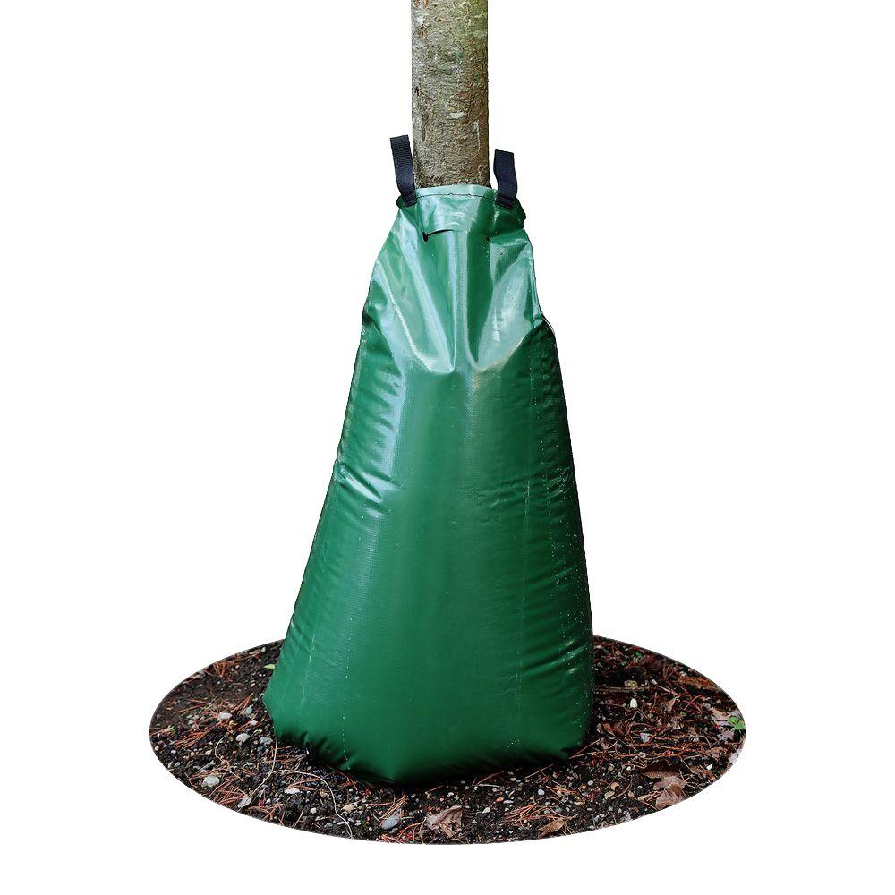 GardenHOME 20 Gal. Stand-up Slow Release Watering Bag for Trees