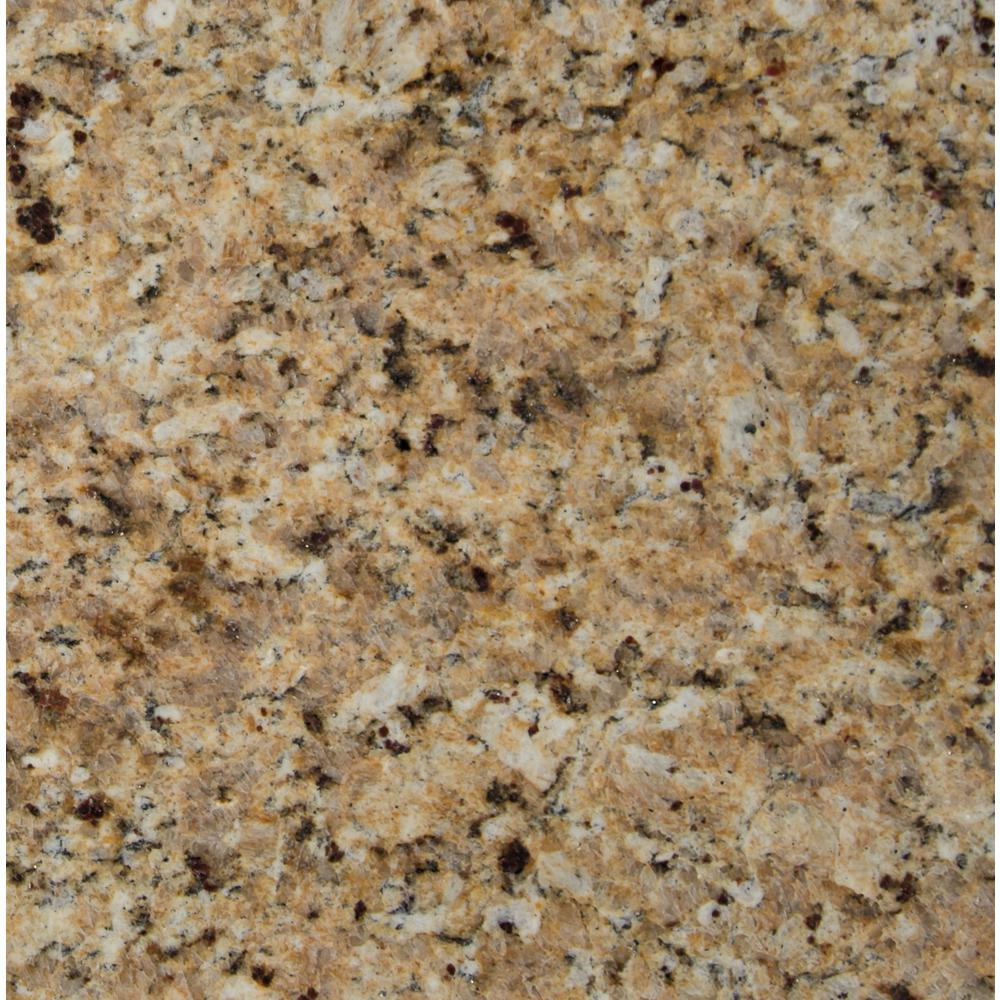 Msi St Helena Gold 12 In X 12 In Polished Granite Floor