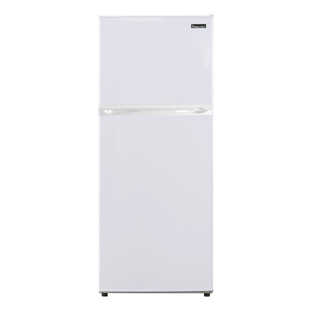Magic Chef 9.9 cu. ft. Top Freezer Refrigerator in White