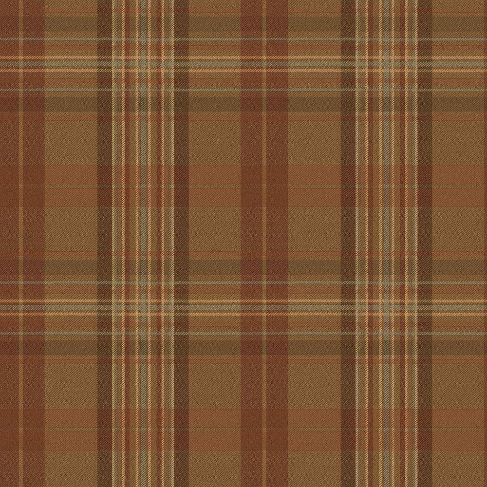 Checkered Wallpaper: Chesapeake Joshua Blue Sunday Plaid Tartan Wallpaper