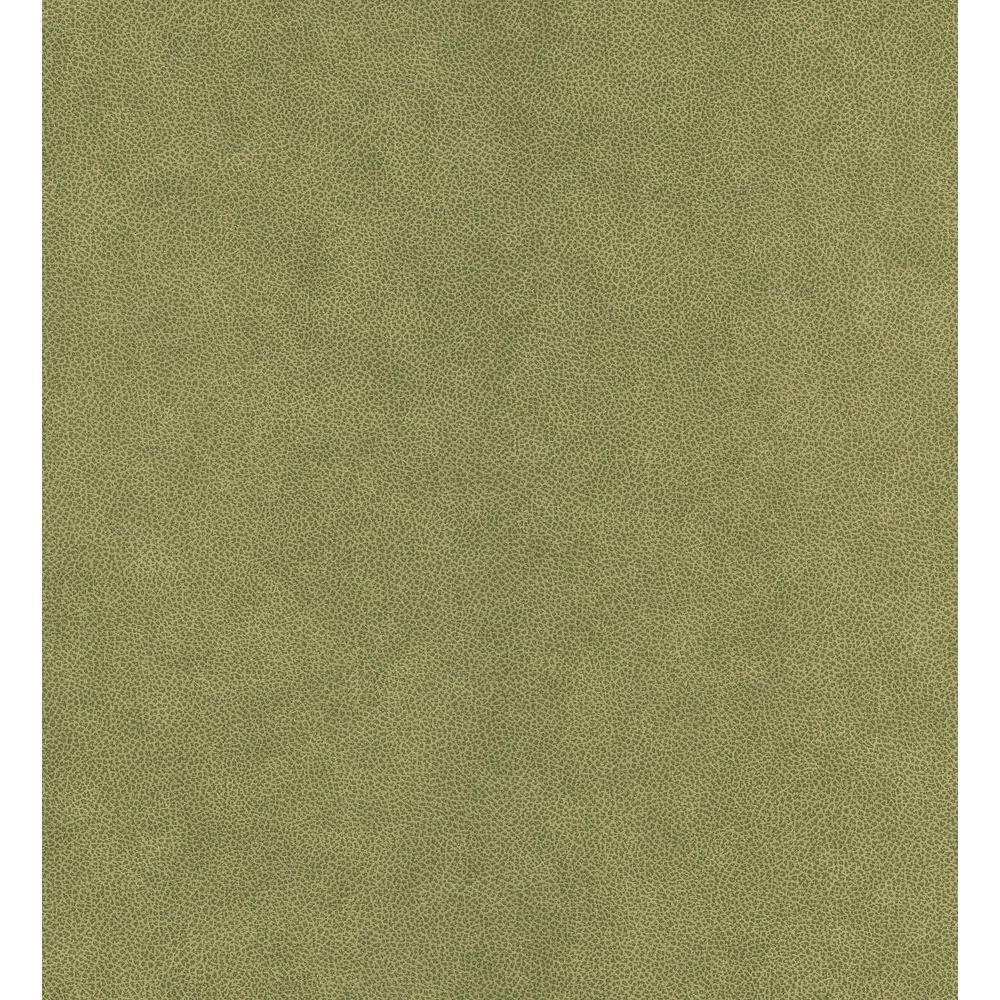 Kandula Olive Animal Print Wallpaper Sample