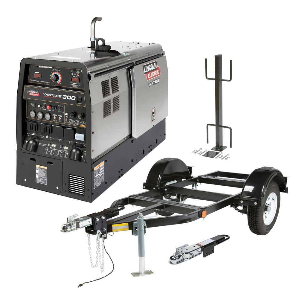 400 Amp Stainless Vantage 300 Diesel Engine Driven Welder (Kubota) One-Pak
