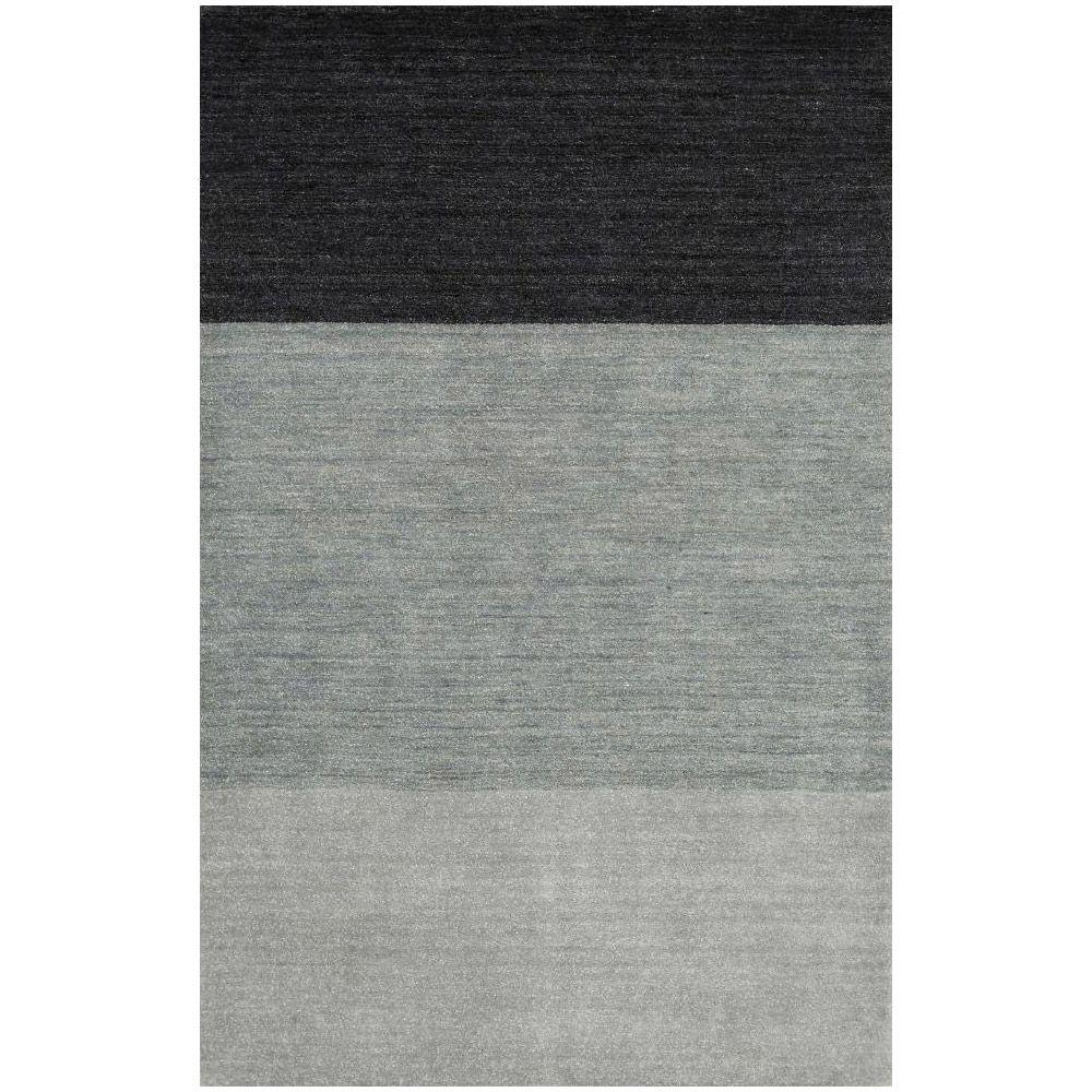 BASHIAN Contempo Collection Blue Ombre Blue 5 ft. x 7 ft. 6 in. Area Rug
