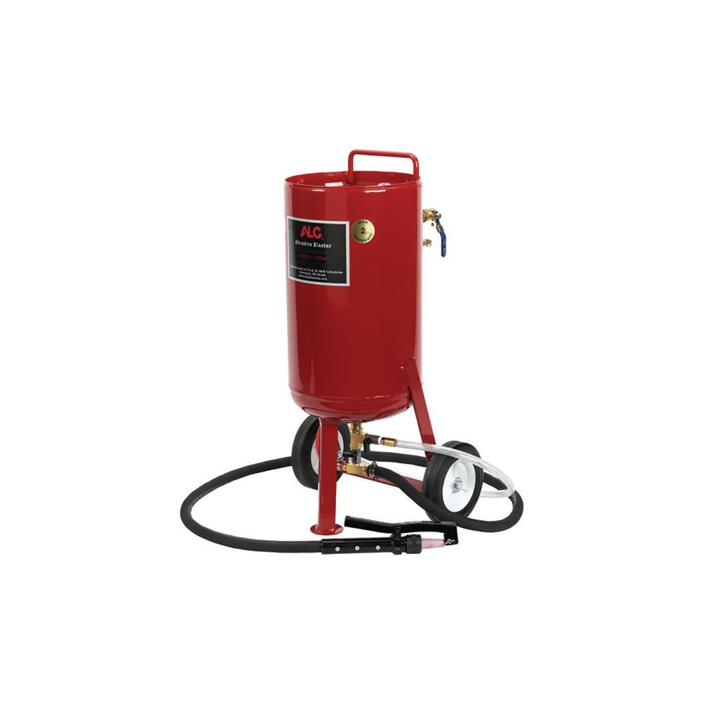 110 lbs. Portable Abrasive Pressure Blaster With Soda Kit
