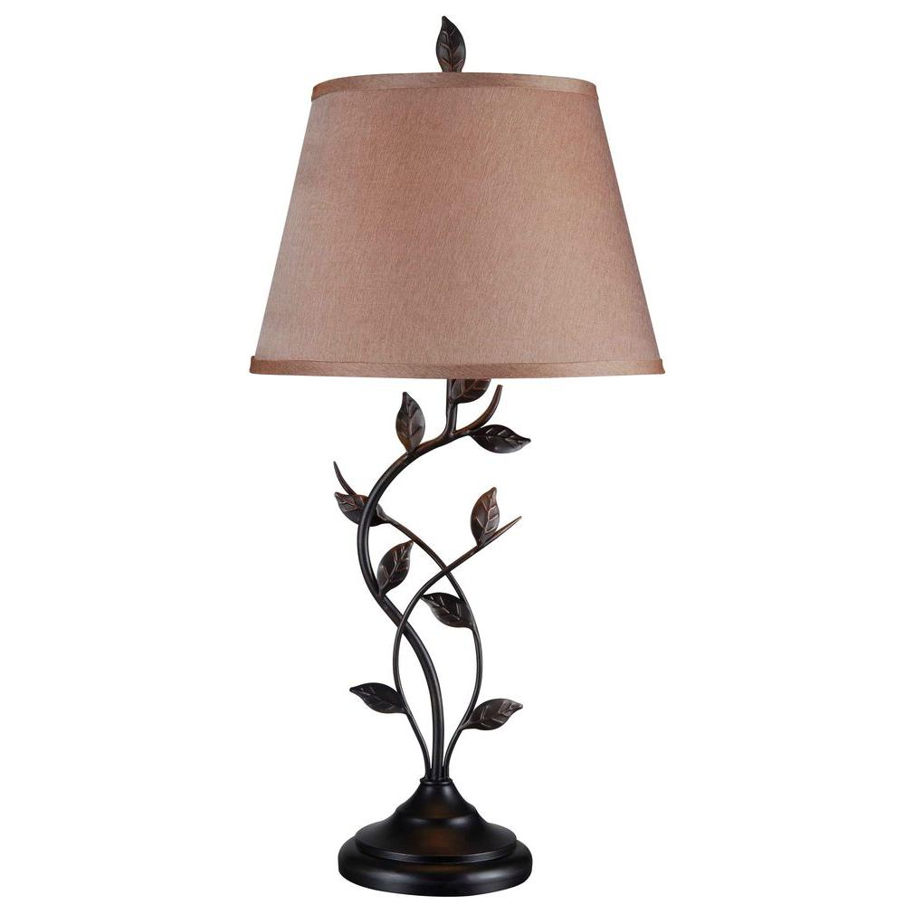 Kenroy Home Ashlen 31 in. Oil-Rubbed Bronze Table Lamp-32239ORB - The Home  Depot - Kenroy Home Ashlen 31 In. Oil-Rubbed Bronze Table Lamp-32239ORB