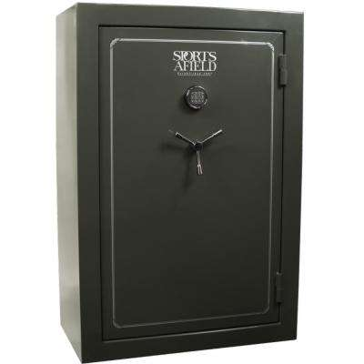 Standard Series 40-Gun Fire Rated, E-Lock Gun Safe, Silver Vein Gloss
