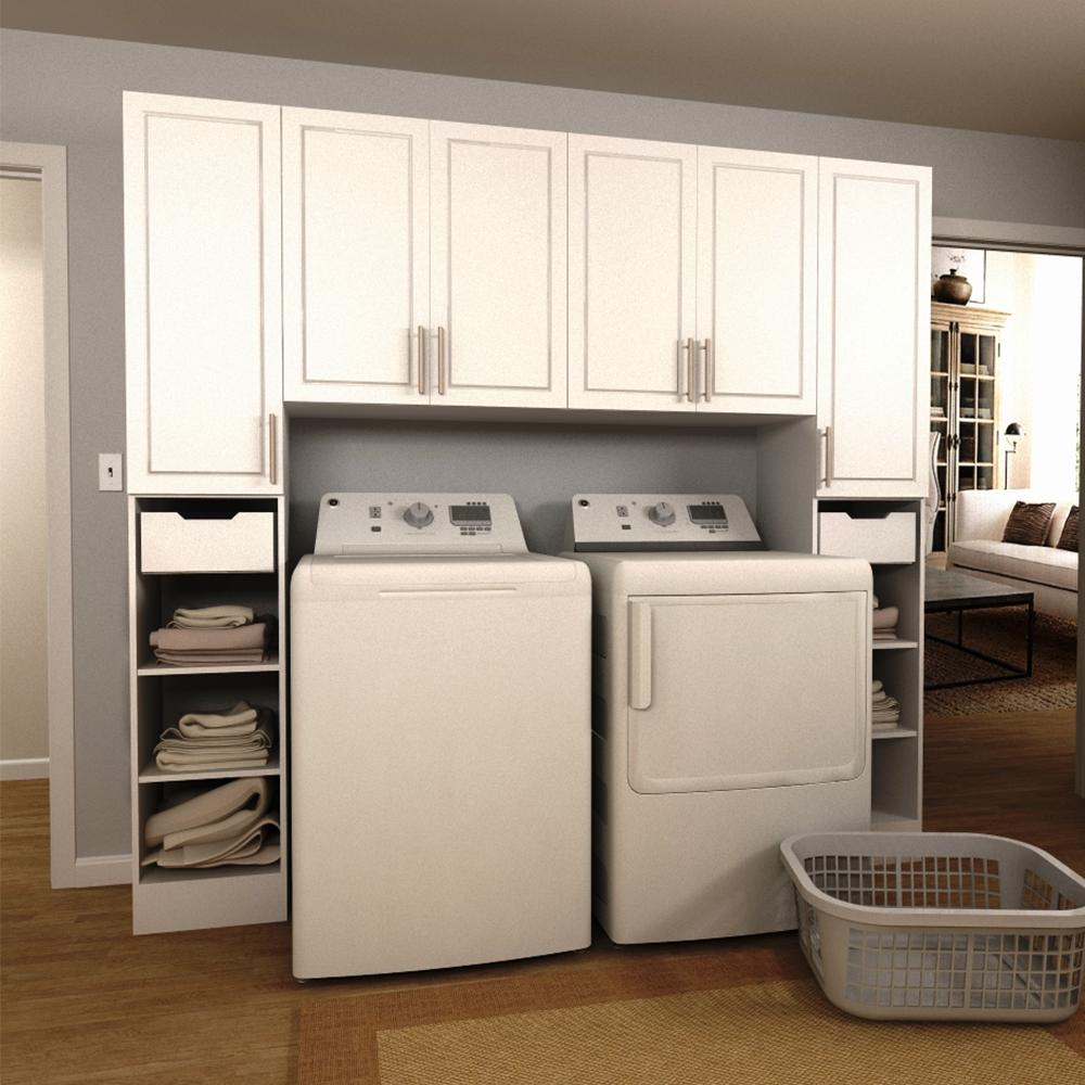 white utility cabinets modifi 90 in w white tower storage laundry 29163