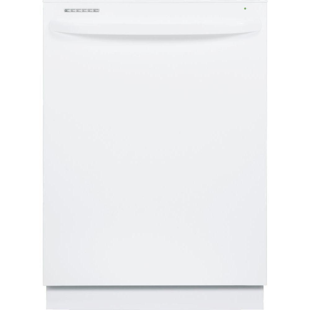 GE Top Control Dishwasher in White