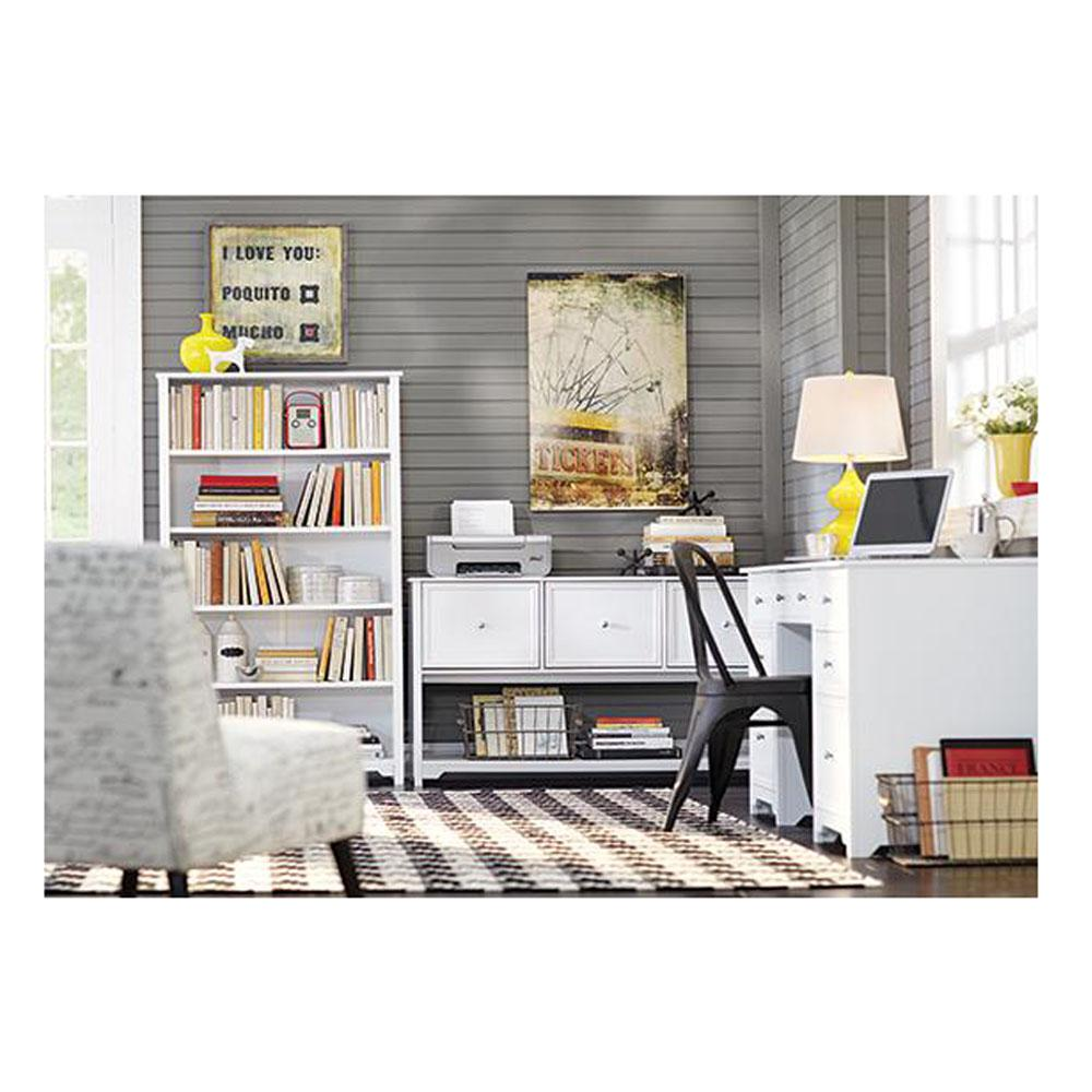 home decorators collection oxford white open bookcase