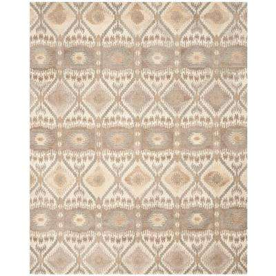 Wyndham Natural Multi 9 Ft X 12 Area Rug