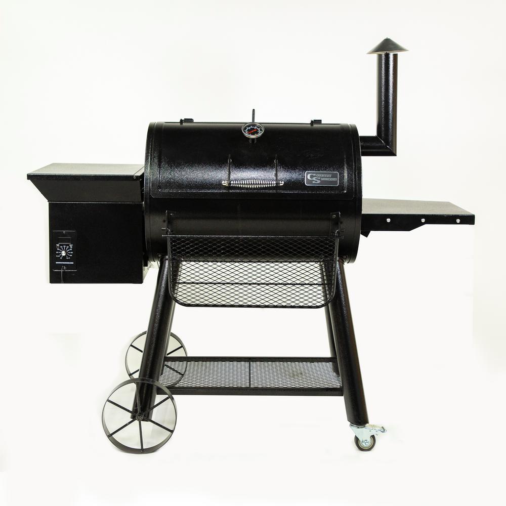 Frontier Series – Ironside 1374 sq in Wood Pellet Grill (Black)