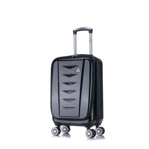0daa3d33ef14 InUSA 3D-City lightweight softside spinner 20 in. carry-on Grey ...