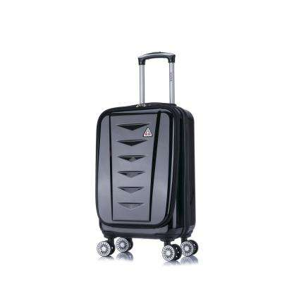 AirWorld lightweight hardside spinner 20 in. carry-on Black