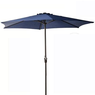 9 ft. Market Patio Umbrella in Deep Blue
