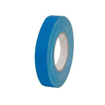 1 in. x 55 yds. Electric Blue Gaffer Industrial Vinyl Cloth Tape (3-Pack)