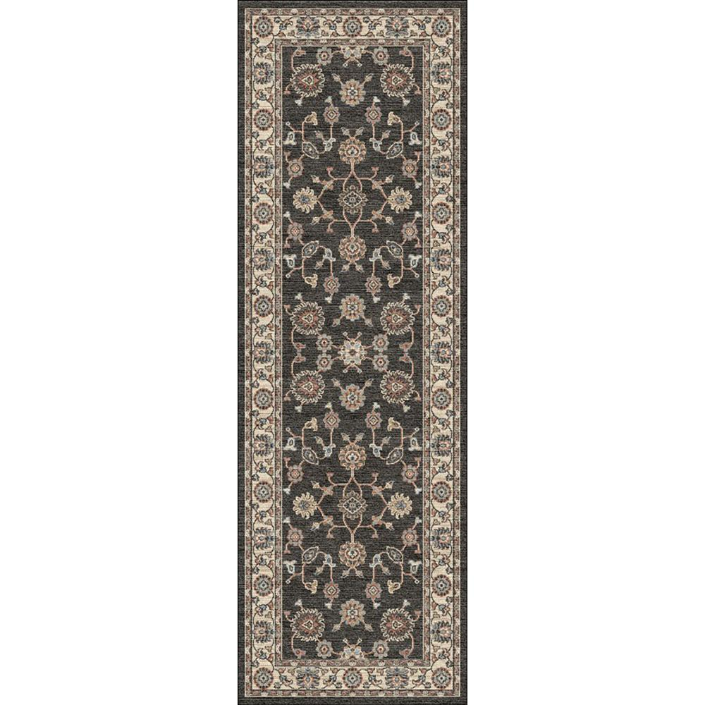 Home Decorators Collection Palmer Gray 2 Ft. 6 In. X 8 Ft