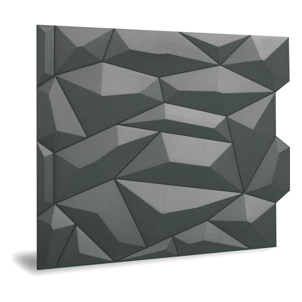 Innovera Decor by Palram 24 in. x 24 in. Glacier Decorative