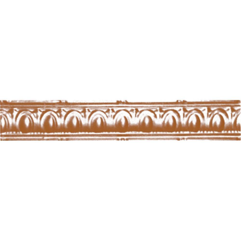 Shanko 3-1/2 in. x 4 ft. x 3-1/2 in. Satin Copper Nail-up...