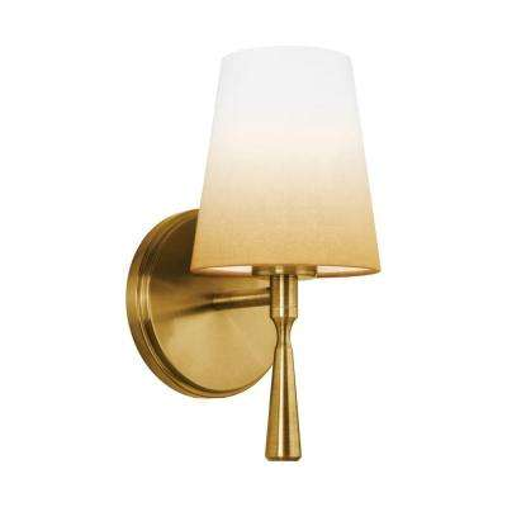 Tori 1-Light Bali Brass Vanity Light