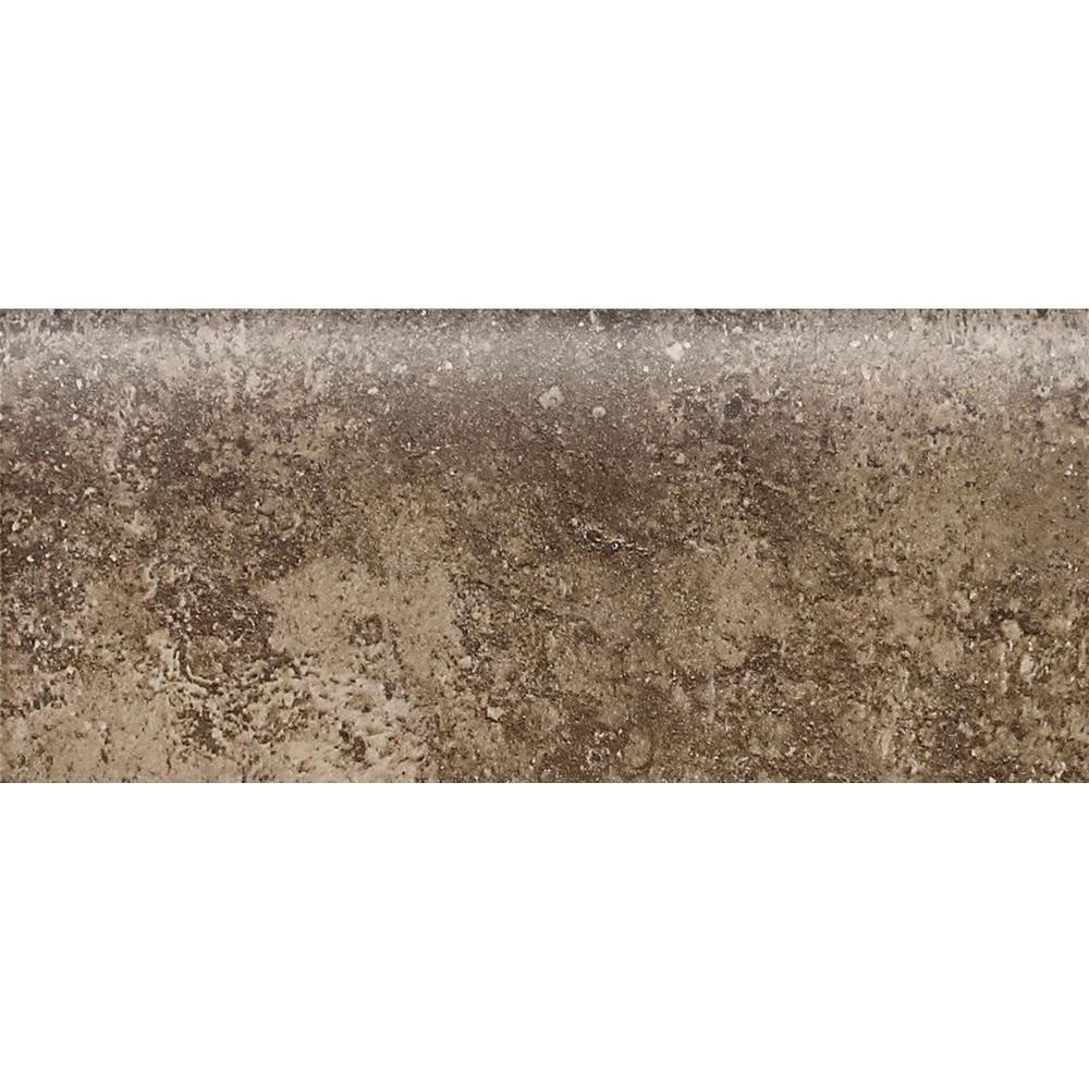 Santa Barbara Pacific Sand 2 in. x 6 in. Ceramic Bullnose Wall Tile