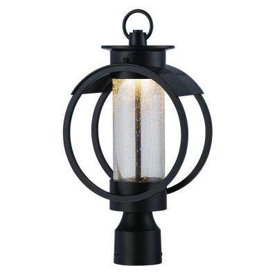 Arbor 9 in. Burnished Bronze LED Post Lantern