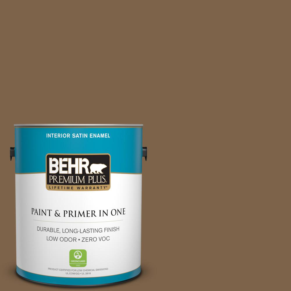 1 gal. #PPU4-19 Arts and Crafts Zero VOC Satin Enamel Interior