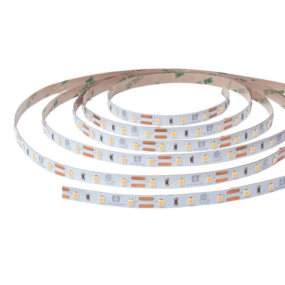 RibbonFlex Pro 32.8 ft. 12-Volt White Tape Strip Light 60 LEDs/m Soft Bright White (3000K)