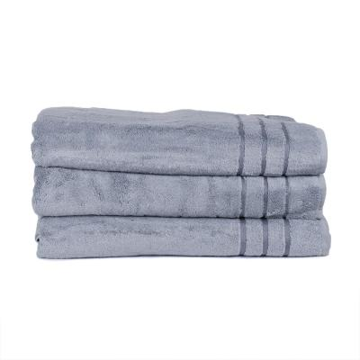 3-Piece Bamboo Hand Towel Set in Blue Lagoon