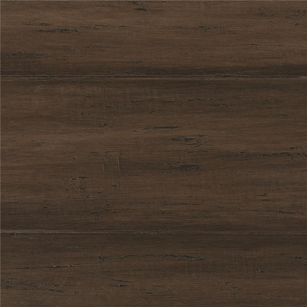 Home decorators collection hand scraped strand woven for Engineered bamboo flooring