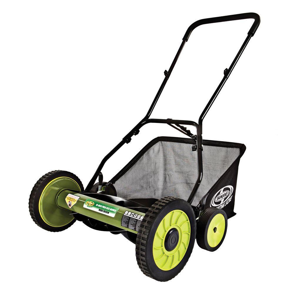 Manual Walk Behind Reel Mower With Gr Catcher