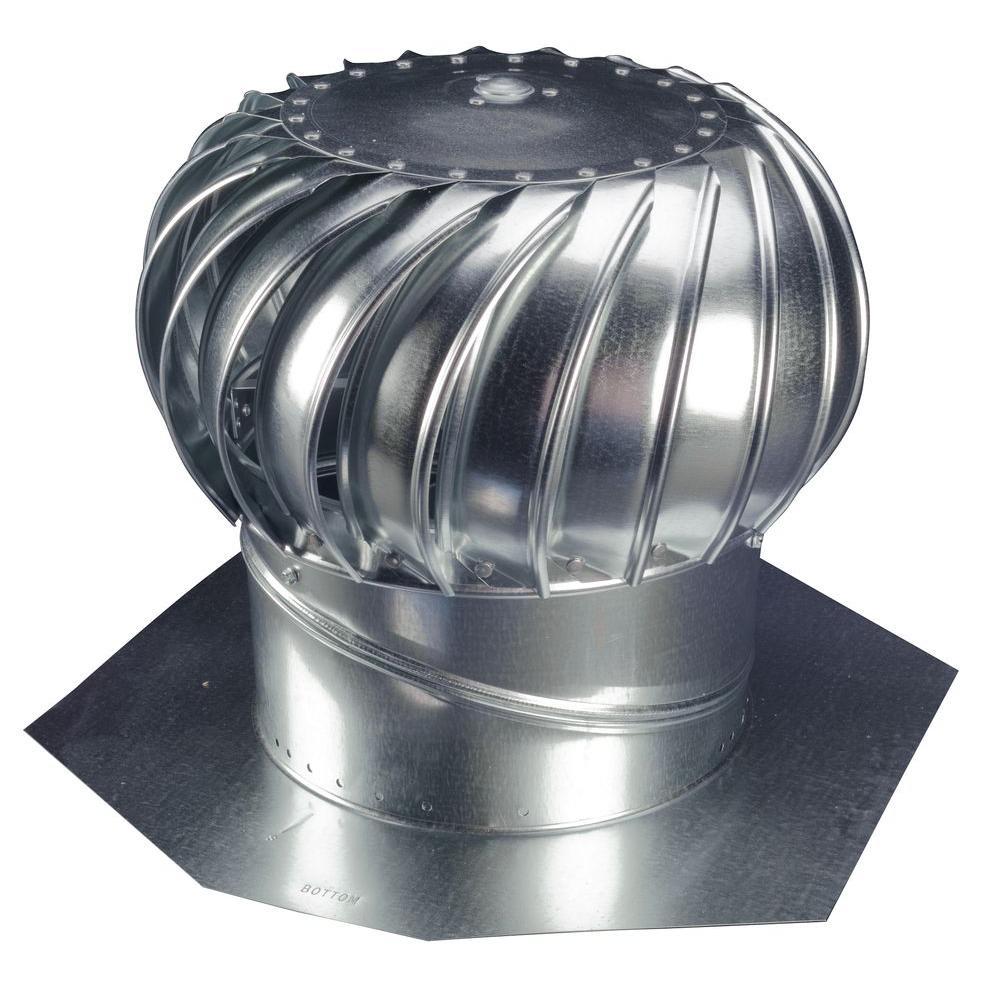 12 in. Galvanized Steel Internally Braced Wind Turbine