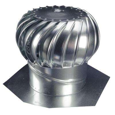 12 in. Galvanized Steel Internally Braced Wind Turbine
