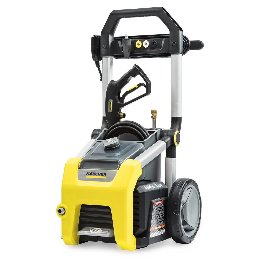 home depot pressure washers ryobi 2 000 psi 1 2 gpm electric pressure washer ry141900 28665
