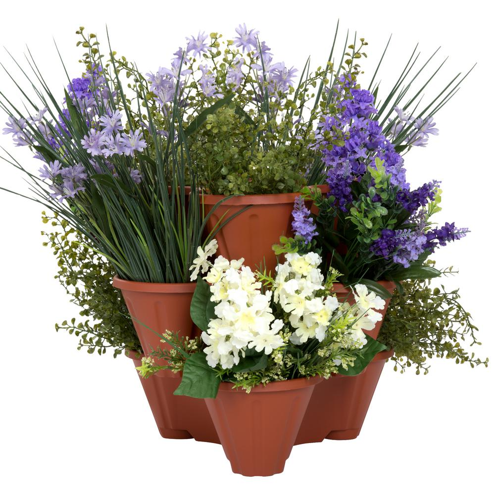 Plastic Herb and Flower Planter (3-Pack)