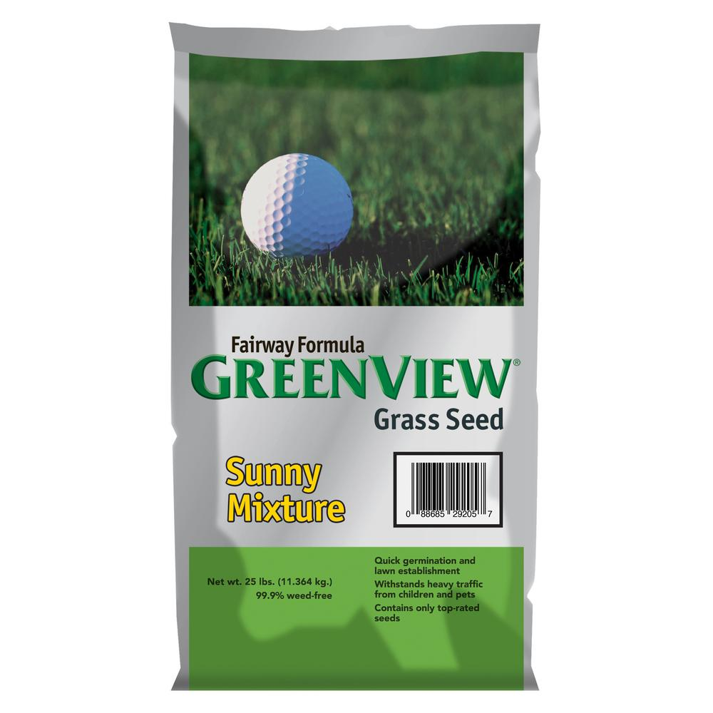 GreenView 25 lb. Fairway Formula Sunny Grass Seed Mixture