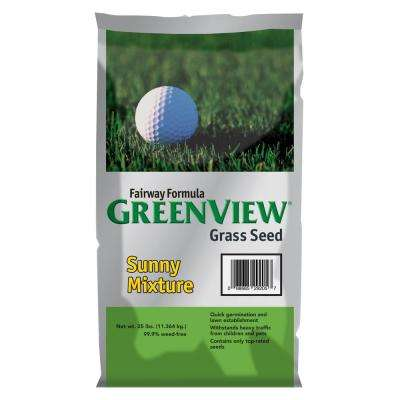 25 lb. Fairway Formula Sunny Grass Seed Mixture