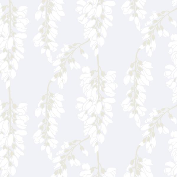 Mitchell Black Nomad Collection Heart Breaker in Cloud Whites Removable and Repositionable Wallpaper