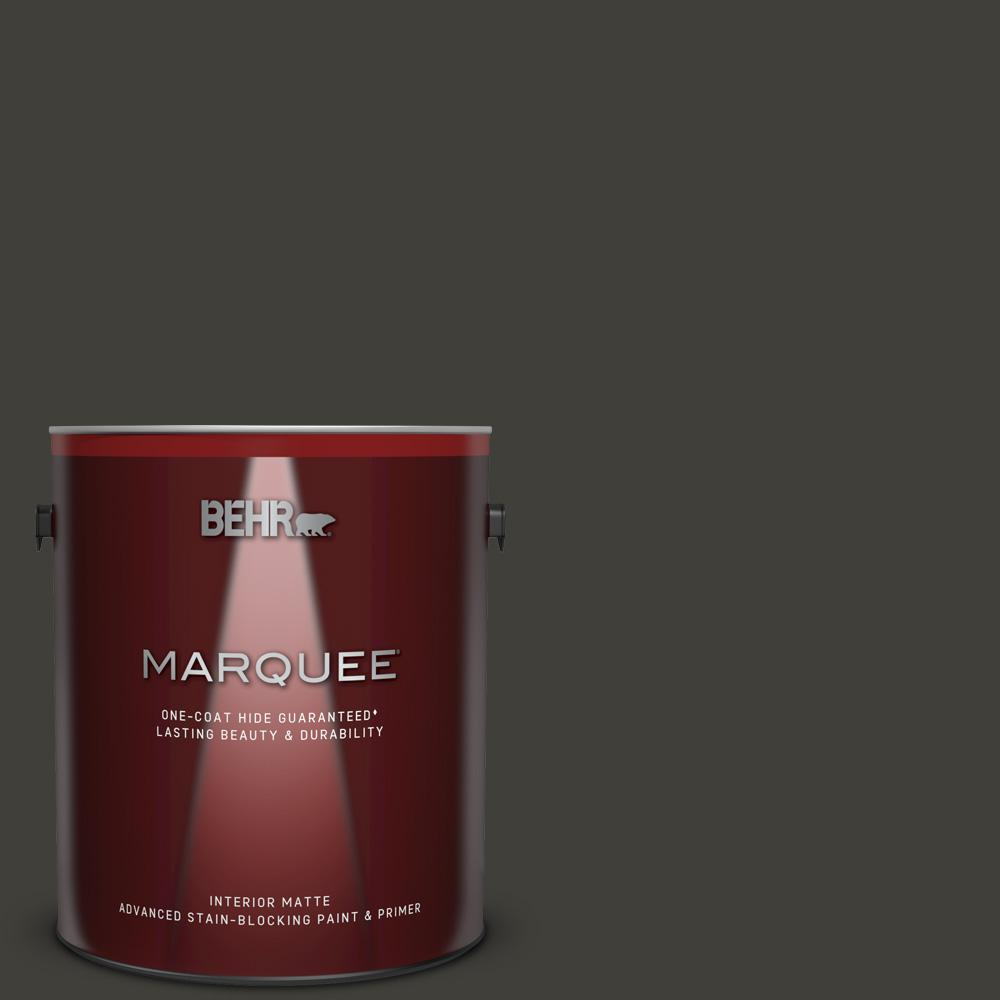 S H 790 Black Suede Matte Interior Paint And Primer In One