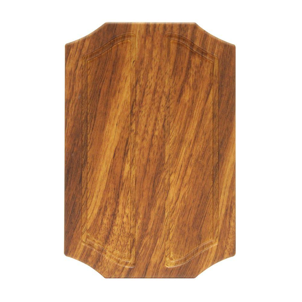 Hampton Bay Wireless Or Wired Door Bell, Medium Oak Woodhb761502  The  Home Depot