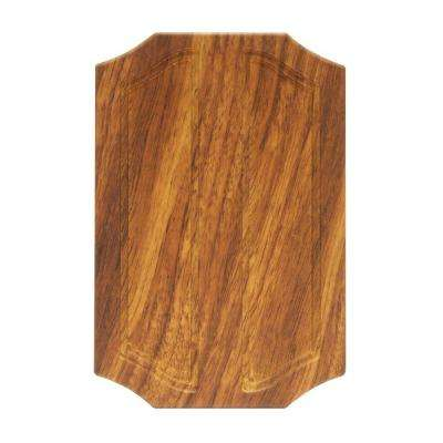 Wireless or Wired Door Bell, Medium Oak Wood