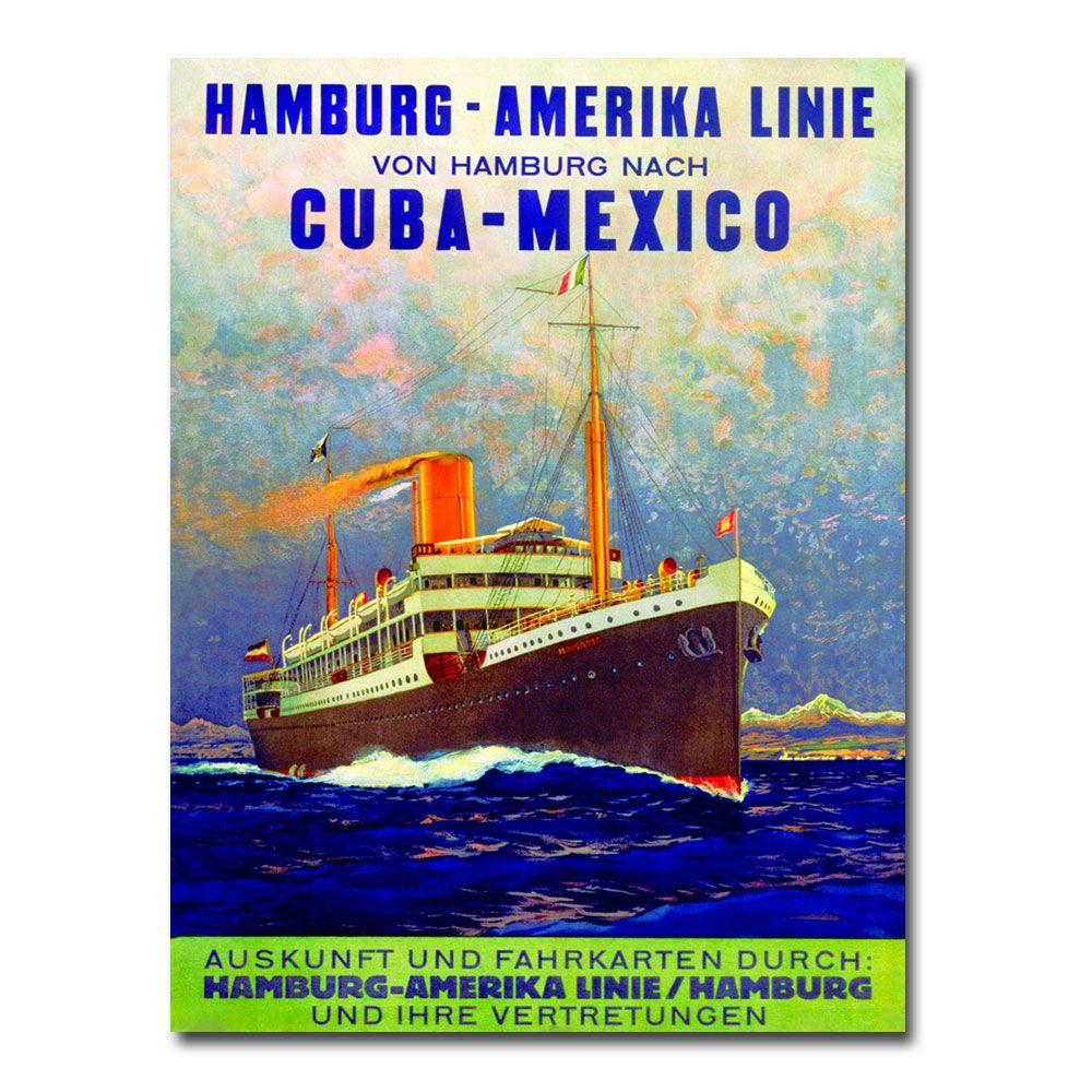 Trademark Fine Art 24 in. x 32 in. Cuba-Mexico 1899 Canvas Art
