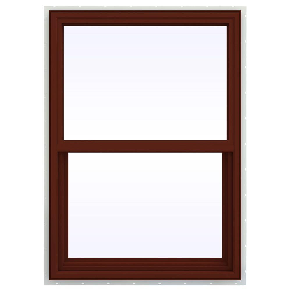 29.5 in. x 41.5 in. V-4500 Series Single Hung Vinyl Window